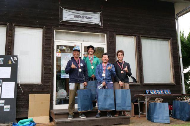 WEDGE SURFINGCLASSIC!参加者&お手伝いの皆さんお疲れ様でした